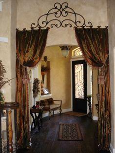 Like the curtain idea