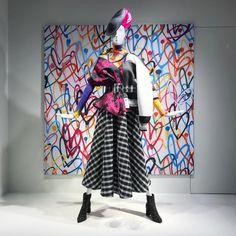 "NEIMAN MARCUS, Michigan Avenue, Chicago, Illinois, ""Art is Art... Isn't it?"", pinned by Ton van der Veer"