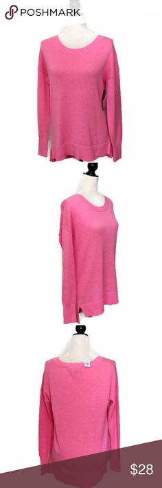 "GAP Pink Crewneck Sweater Size: M Chest: 22"" across Length: 28"" 60% Cotton   40% Rayon Machine Wash Cold Gentle Cycle Brand New with Tags! GAP Sweaters Crew & Scoop Necks"