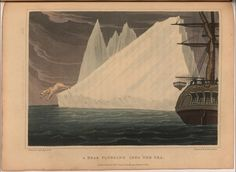 Arctic explorer Sir John Ross drew these images while captaining the first nineteenth-century British search for the Northwest Passage. The drawings were engraved in London, and published in Ross Draws, Arctic Explorers, Tall Ships, North West, The Book, 19th Century, Frozen, History, Drawings