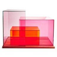 Schonbuch Sliding Glass Display Case