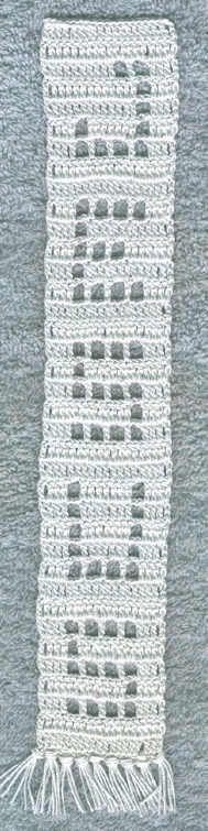 Crochet Religious Bookmark Patterns - Jesus Bookmark Pattern