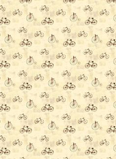 Sepia tone vintage bicycle wallpaper