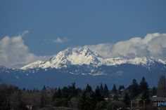 bremerton | Olympic Mountains, seen from the Manette neighborhood of Bremerton, WA