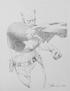 Captain America by Steve McNiven.