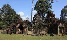Banteay Prei in Angkor, Siem Reap Cambodia  Date: End of 12th century, Reign: Jayavarman VII, Religion: Buddhist  Read more: http://www.globaltravelmate.com/asia/cambodia/angkor/angkor-temples/686-siem-reap-banteay-prei.html#ixzz2Xba4u1U6
