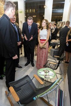 2014.11.03: Crown Princess Mary at a fine design event in Cape Town, promoting Danish brands like Pandora Jewellery, the luxury furniture retailer Houe and Morso Fireplaces.