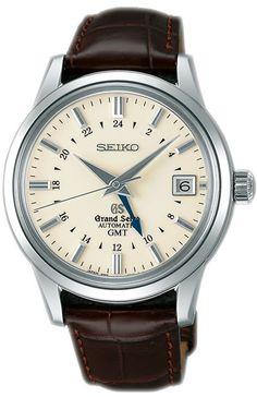 Grand Seiko Automatic GMT. Gorgeous. (Seiko says --> not our words but so true :)