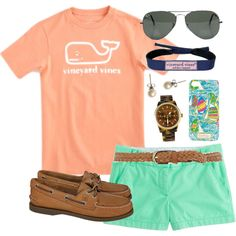 """""""Bold Colors"""" by classically-preppy on Polyvore"""