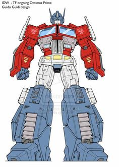 Optimus Prime - Concept Art from Transformers Ongoing