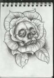 sugar skull tattoo vorlage
