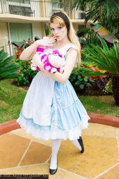 Alice and Cheshire Cat #cosplay | Anime Los Angeles 2015 - Sunday #DTJAAAAM