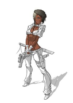 inspired by two of my female customers at work i got a bit carried away with it done in Sai, PS used to only to change the layer type for the skin. since Sai cannot Flatten i had to save the to jpe. Skins Characters, Black Cartoon Characters, Female Characters, Cartoon Art, Fantasy Characters, Female Character Design, Comic Character, Character Concept, Concept Art