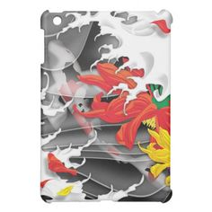 Tattoo- Traditional Japanese Design iPad case