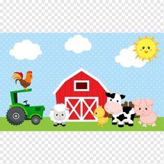 Farm Animals Backdrop / Banner (Blue for Boys) - My best shares Farm Animal Birthday, Farm Birthday, Boy Birthday Parties, Barnyard Party, Farm Party, Farm Backdrop, Farm Theme, Backdrops For Parties, Farm Animals