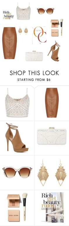 """""""♥"""" by macopa ❤ liked on Polyvore featuring Bailey 44, ALDO, BCBGMAXAZRIA, Icon Eyewear, Charlotte Russe and Bobbi Brown Cosmetics"""