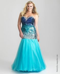 offshoulder plussize gown Find a great plus size prom dress 2013