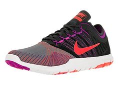 7a9eab71de3 Nike Womens Flex Adapt Tr Cool GryTtl CrimsonAnthraciteHypr Training Shoe 7  Women US -- You