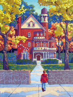 Home From School ~ by Ned Gannon