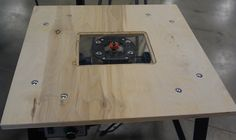 This Instructable describes a routing table I made at Techshop after taking the Laser Cutter SBU. I wanted a project to try out my new laser cutting skills, and a router mounting plate for a router table seemed perfect. Techshop has a nice router table that members can use, but I have a lot a small projects in my garage, somy own table at home would come in handy. In this instructable, I describe all the tools and materials you need to construct your own. If you'd like to obtain...