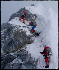 Last year, Outside reported that the Hillary Step, the iconic feature 200 feet from Everest's summit, had been fundamentally altered by the 2015 earthquake that shook the mountain. Mount Everest Base Camp, Everest Base Camp Trek, Ice Climbing, Mountain Climbing, Mountain Biking, Monte Everest, Climbing Everest, World 7, Base Jumping