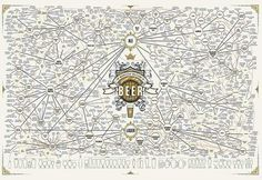 The Magnificent multitude of beer   Link: http://popchartlab.com/collections/prints/products/the-magnificent-multitude-of-beer