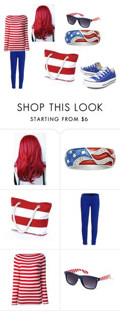 """""""second of july"""" by born2shine ❤ liked on Polyvore featuring Salsa, dVb Victoria Beckham, Stella Jean, Forever 21 and Converse"""