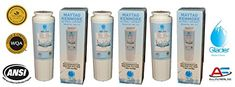 Maytag Refrigerator Water Filters UKF8001 - Pur Compatible - Replacement for Maytag UKF8001, UKF8001AXX, EDR4RXD1, Whirlpool 4396395, Puriclean II, Kenmore 9006 - Maytag Fridge Filter (3)