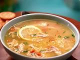 Picture of Chicken Lemon Orzo Soup Recipe