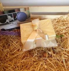 Sapone naturale di Provenza con cuscino imbottito giallo, by L' Atelier di Trame Preziose, 7,00 € su misshobby.com