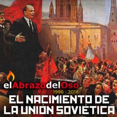 Esta semana en #ElAbrazodelOso vamos a conocer, con mucha profundidad, cómo nació la Unión Soviética sobre los rescoldos de un país destrozado y con la amenaza constante de una comunidad internacional nada dispuesta a permitir experimentos diferentes al del capitalismo establecido.
