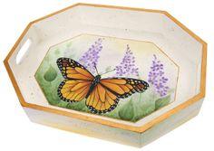 Monarch butterfly tray