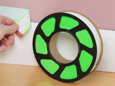 SnotTape's reusable painter's tape, discovered by The Grommet, enables straight paint lines, using a gel lining that gets into grooves to prevent bleeding.