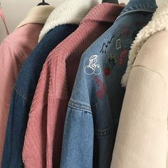 fashion wardrobe clothes outfit vintage retro style aesthetic apparel closet dream jumpers tshirts sweaters cool room artsy denim jackets skirts simple looks plant spaces dungarees home Nancy Wheeler, Estilo Grunge, Outfit Invierno, Estilo Retro, Street Style, Style Vintage, Retro Style, Look Cool, My Wardrobe