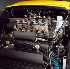Mid-engine 12 Cyl (Miura) - now that's craftsmanship