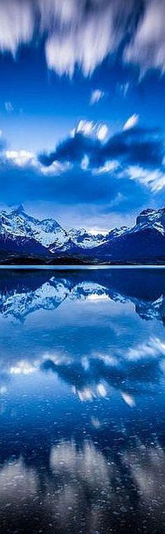 blue mountain  reflection #via: 500px.com -- Brian Howe