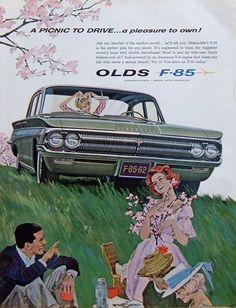 1962 Oldsmobile F-85 Ad