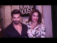 Karan Singh Grover & Bipasha Basu SPOTTED at The Korner House, Khar, Mumbai.