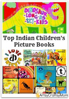 Top Indian Children's Picture Books via @artsycraftsymom #MCKlitday #multicultural #kidlit