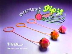 "At some point they made an ""electronic"" Skip-It, which just meant that your toy now made an incredibly irritating, high-pitched beeping noise. 