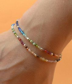 www.etsy.com/shop/Zzaval Bracelet made with sterling silver clasp and 7 chakras colors gemstones: Ruby,Carnelian,Citrine,opal,emerald,peridot,amazonite,topaz,aquamarine,apatite,lapis lazuli,agate,sapphire,amethyst Double wrap Sterling silver clasp Necklace matching: