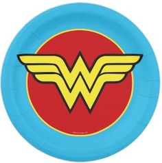 Now you can have a Wonder Woman party because we found you Wonder Woman paper plates and you need those for a real Wonder Woman party. Wonder Woman Birthday, Wonder Woman Party, Party Plates, Party Tableware, Logo Wonder Woman, Birthday Party Themes, Happy Birthday, Surprise Birthday, Birthday Invitations