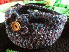 A little crochet basket