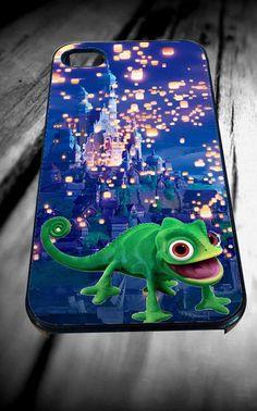 Pascal lantern castle Disney Tangled for iPhone 4/4s/5/5S/5C/6, Samsung S3/S4/S5 Unique Case *95* - PHONECASELOVE