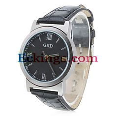 Women's PU Analog Quartz Wrist Watch (Black) : Online Shopping for Watches, Toys & more