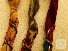 tulbent-ve-boncuklardan-kolye-yapimi-7 Napkin Rings, Napkin Holders