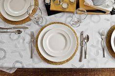 Homemade XOXO Tablecloth Tutorial