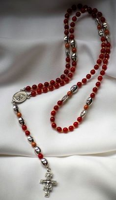 Seven Decade Crown Rosary by AllToolsPrayerful on Etsy.  New 7 Decade Rosary....praying the 7 Joys of Our Blessed Mother Mary