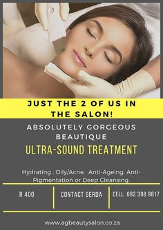 Ultrasound, Facials, My Beauty, Absolutely Gorgeous, Anti Aging, Salons, Skincare, Weight Loss, Lounges