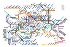 16 Best Subway Map Design Other Countries images